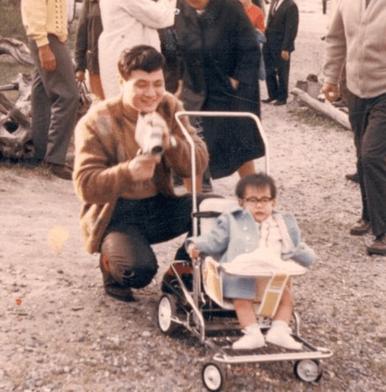Steve & dad